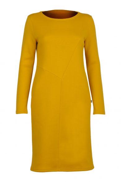 Suknelė RITA, geltona (priekis)