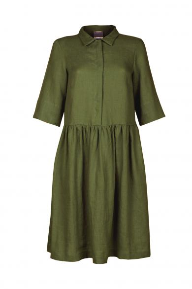 Dress JOANA, green (front)