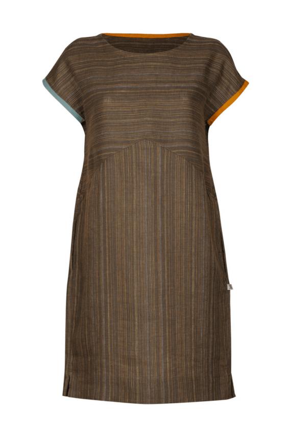 Suknelė Rūta, dryžuota (priekis)